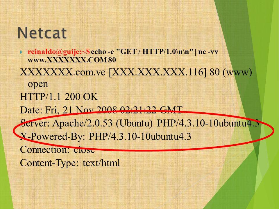 XXXXXXX.com.ve [XXX.XXX.XXX.116] 80 (www) open HTTP/1.1 200 OK